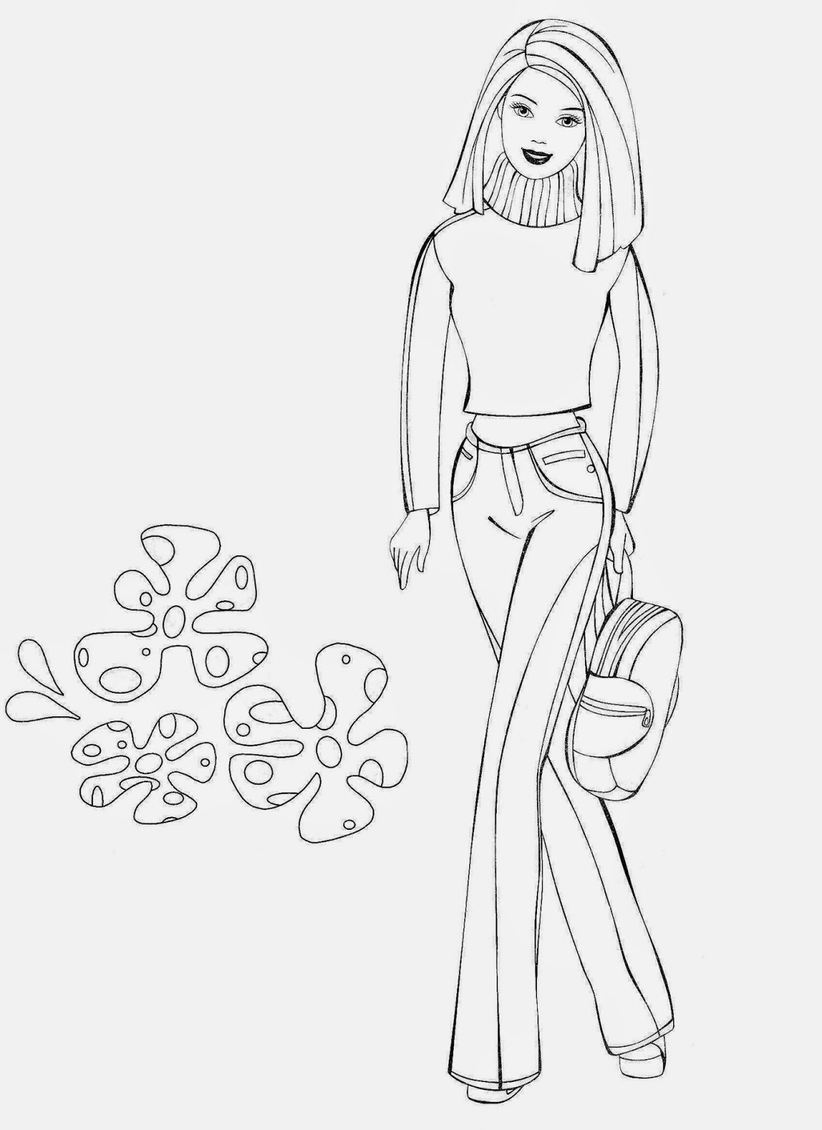 barbie doll colouring coloring pages barbie free printable coloring pages barbie colouring doll 1 1