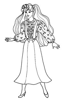 barbie gymnastics coloring pages free printable barbie gymnastics coloring page for kids coloring pages gymnastics barbie