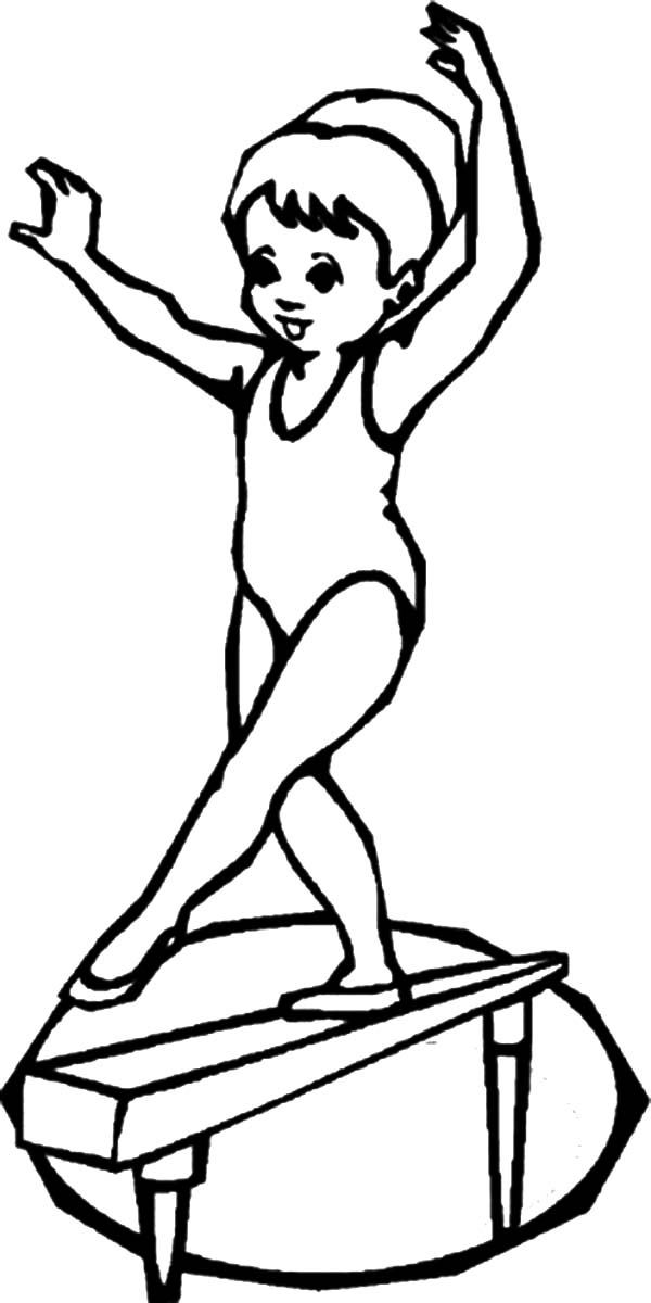 barbie gymnastics coloring pages gymnastics coloring pages to print at getdrawings free coloring pages barbie gymnastics