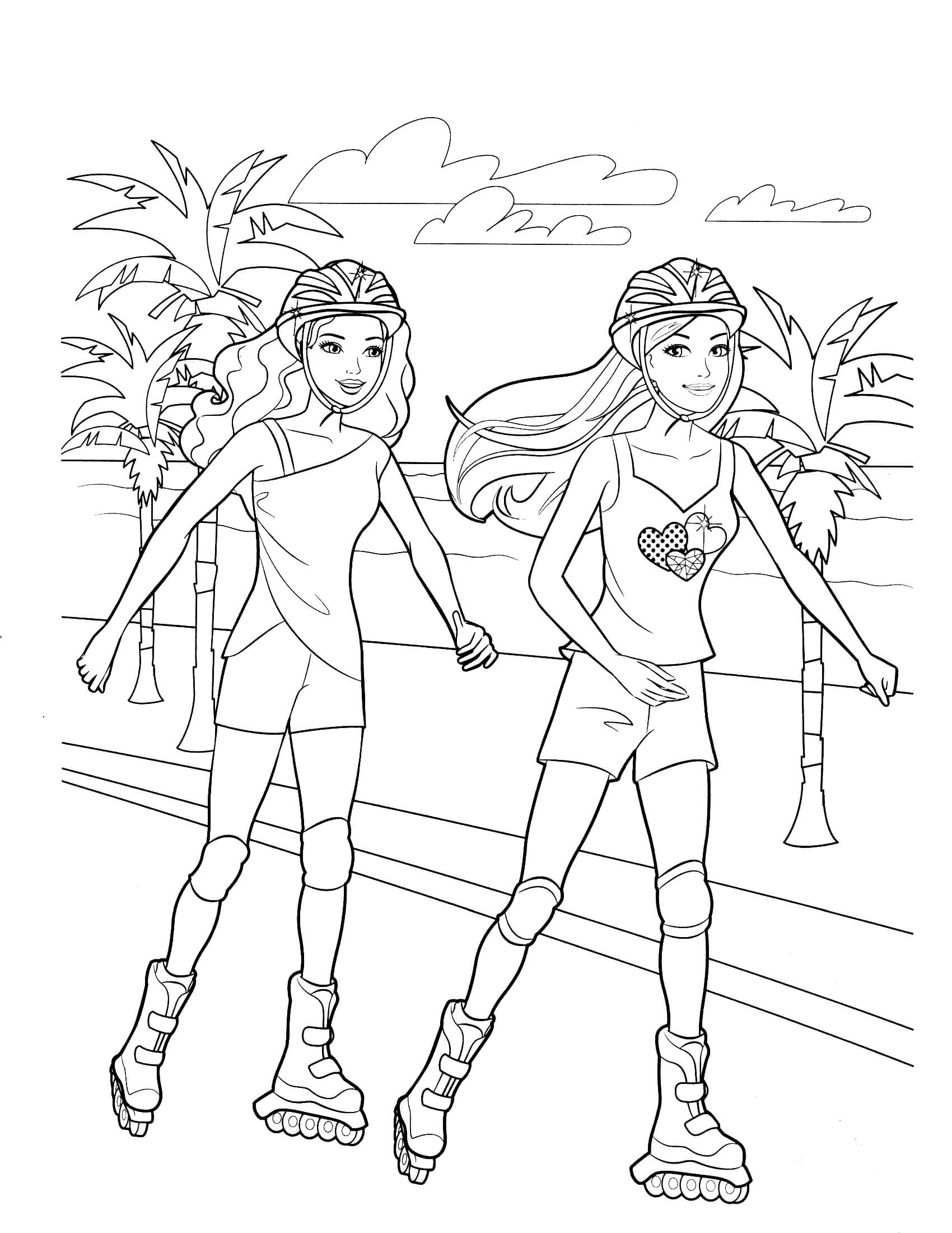 barbie painting pages easy barbie coloring pages at getcoloringscom free barbie pages painting