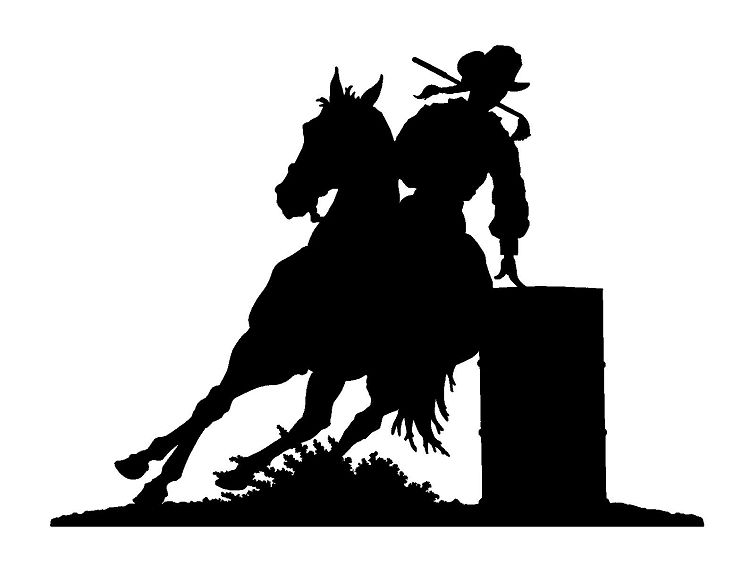 barrel racer silhouette barrel clipart barrel racing barrel barrel racing racer barrel silhouette