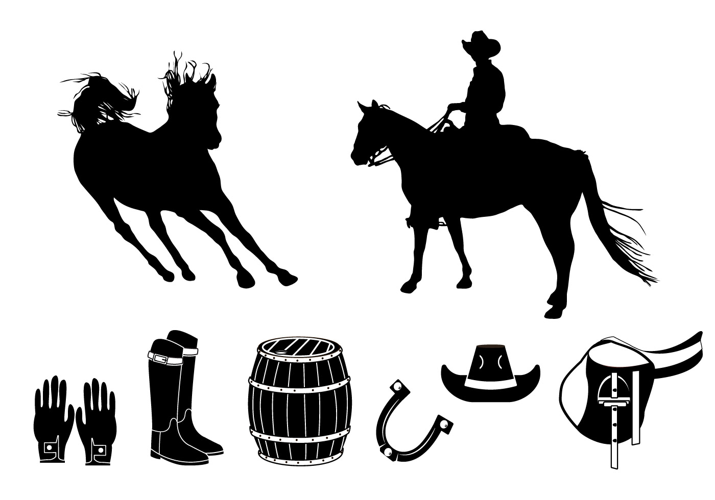 barrel racer silhouette barrel racer silhouette vinyl decal wild west living racer barrel silhouette