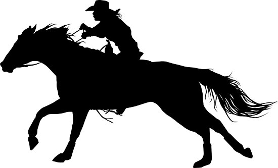 barrel racer silhouette barrel racing clipart clipart suggest silhouette barrel racer