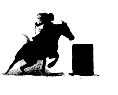 barrel racer silhouette barrel racing pictures clip art clipart collection barrel silhouette racer