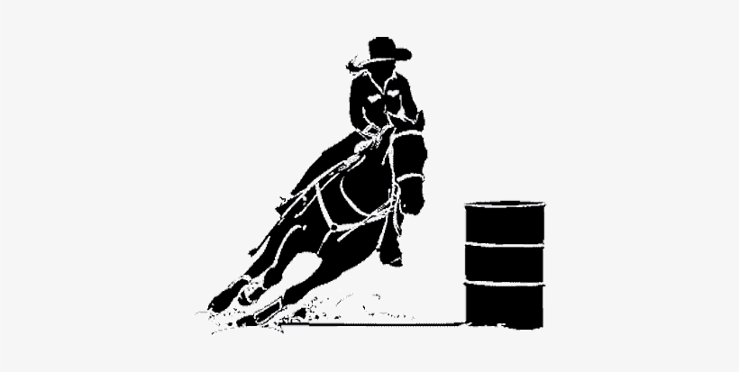 barrel racer silhouette barrel racing silhouette silhouette racer barrel