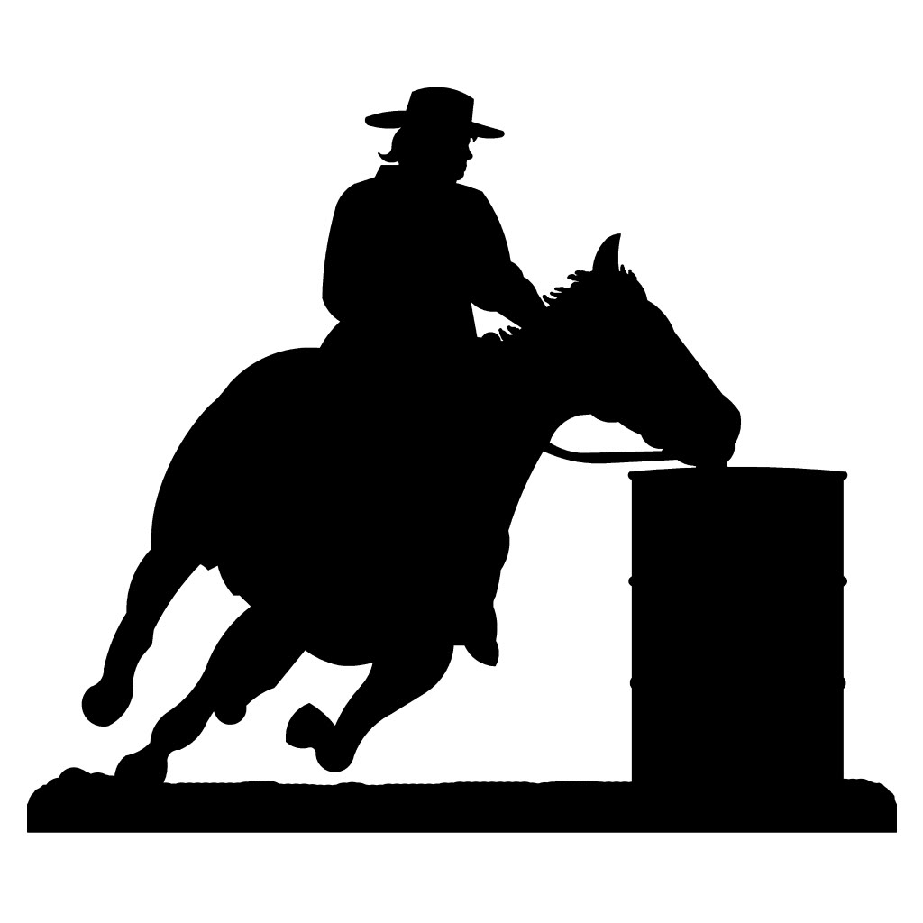 barrel racer silhouette element of barrel racing silhouette download free silhouette racer barrel