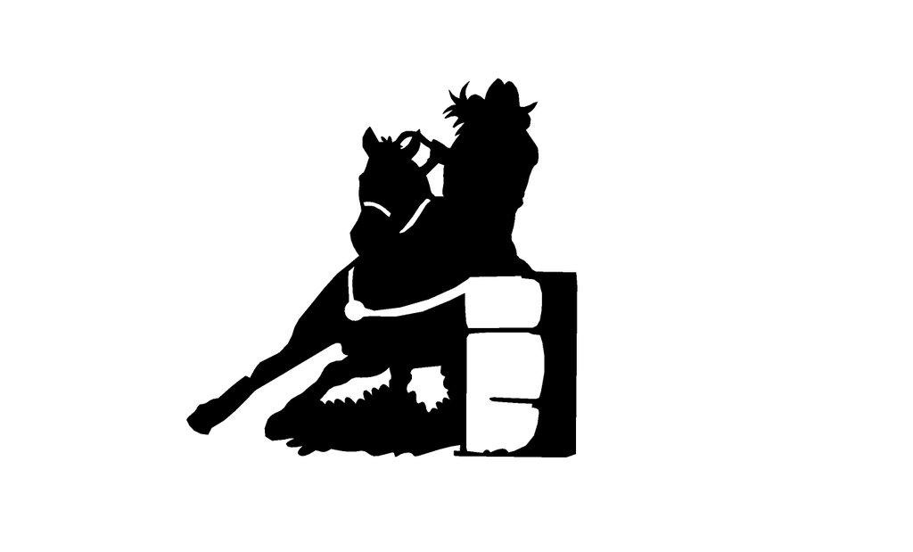 barrel racer silhouette library of svg transparent stock barrel racer png files racer silhouette barrel