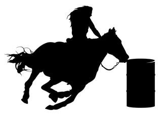 barrel racer silhouette rodeo silhouette clipart free download on clipartmag barrel silhouette racer