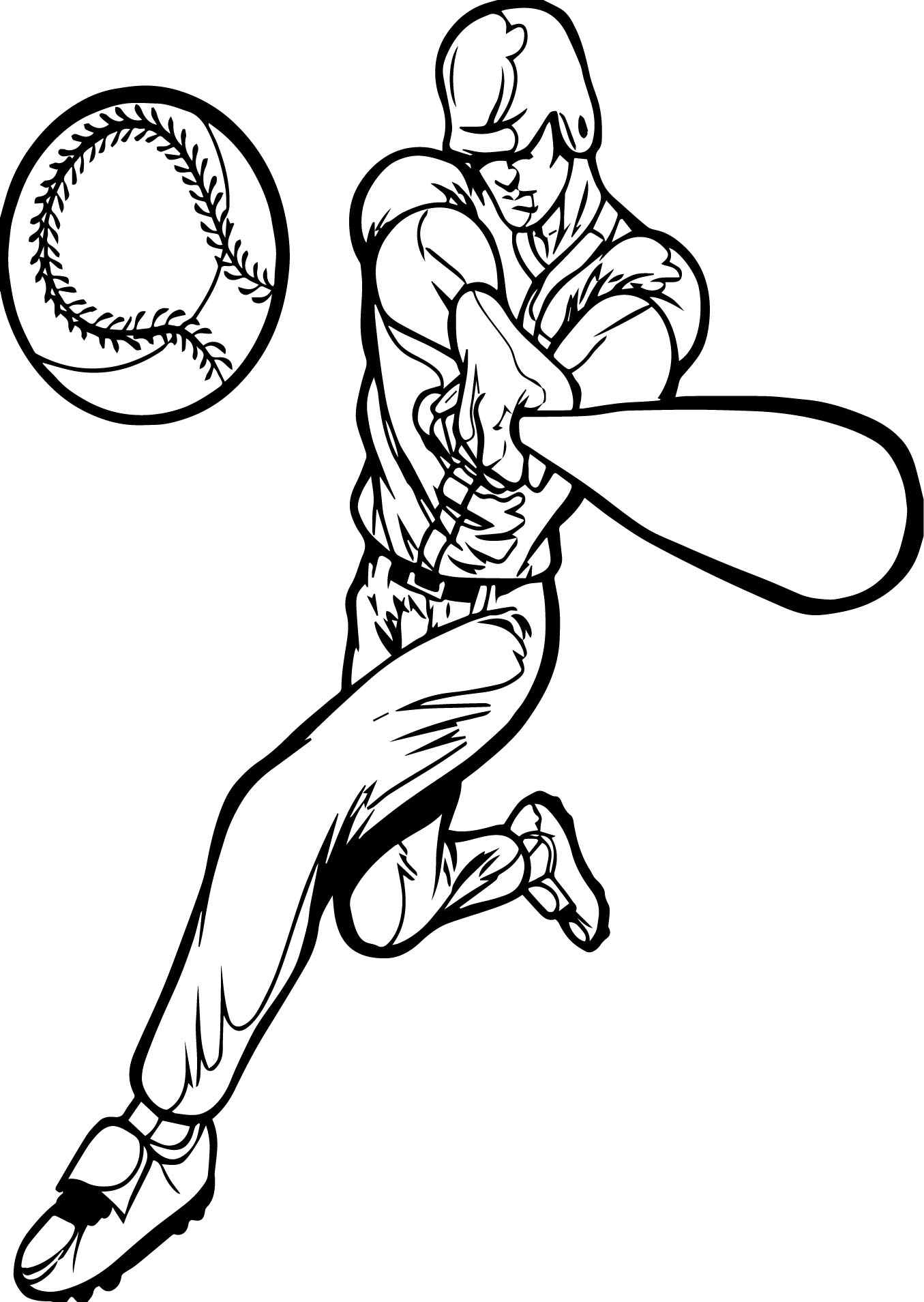 baseball coloring pictures baseball color pages pictures coloring baseball
