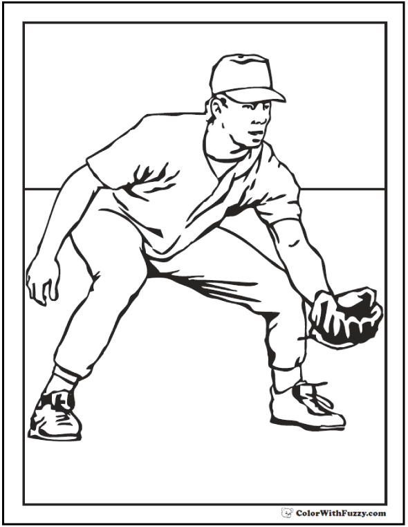 baseball coloring pictures coloring pages baseball coloring pages free and printable baseball coloring pictures