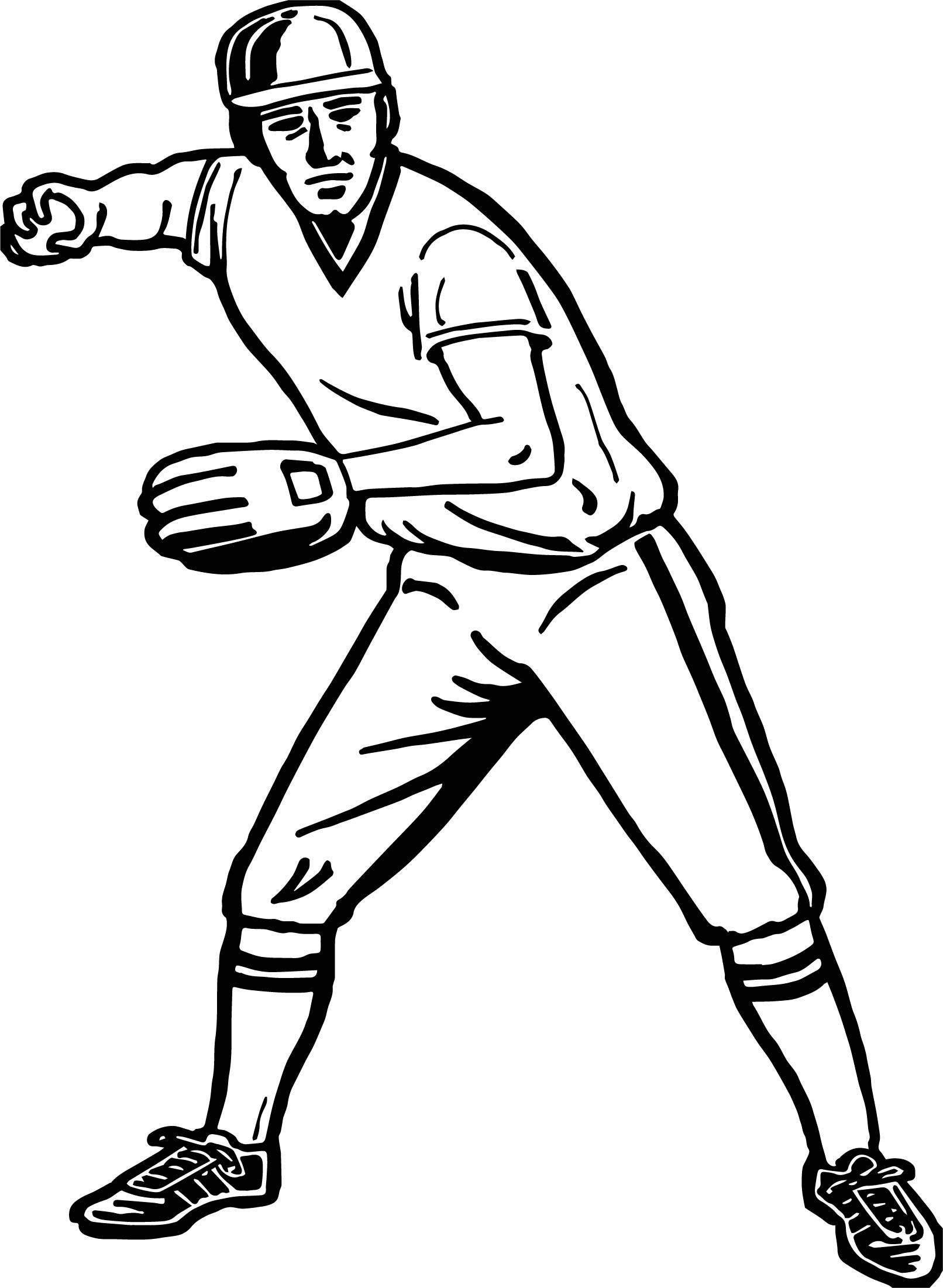 baseball for coloring coloring page of a baseball player coloring home for baseball coloring