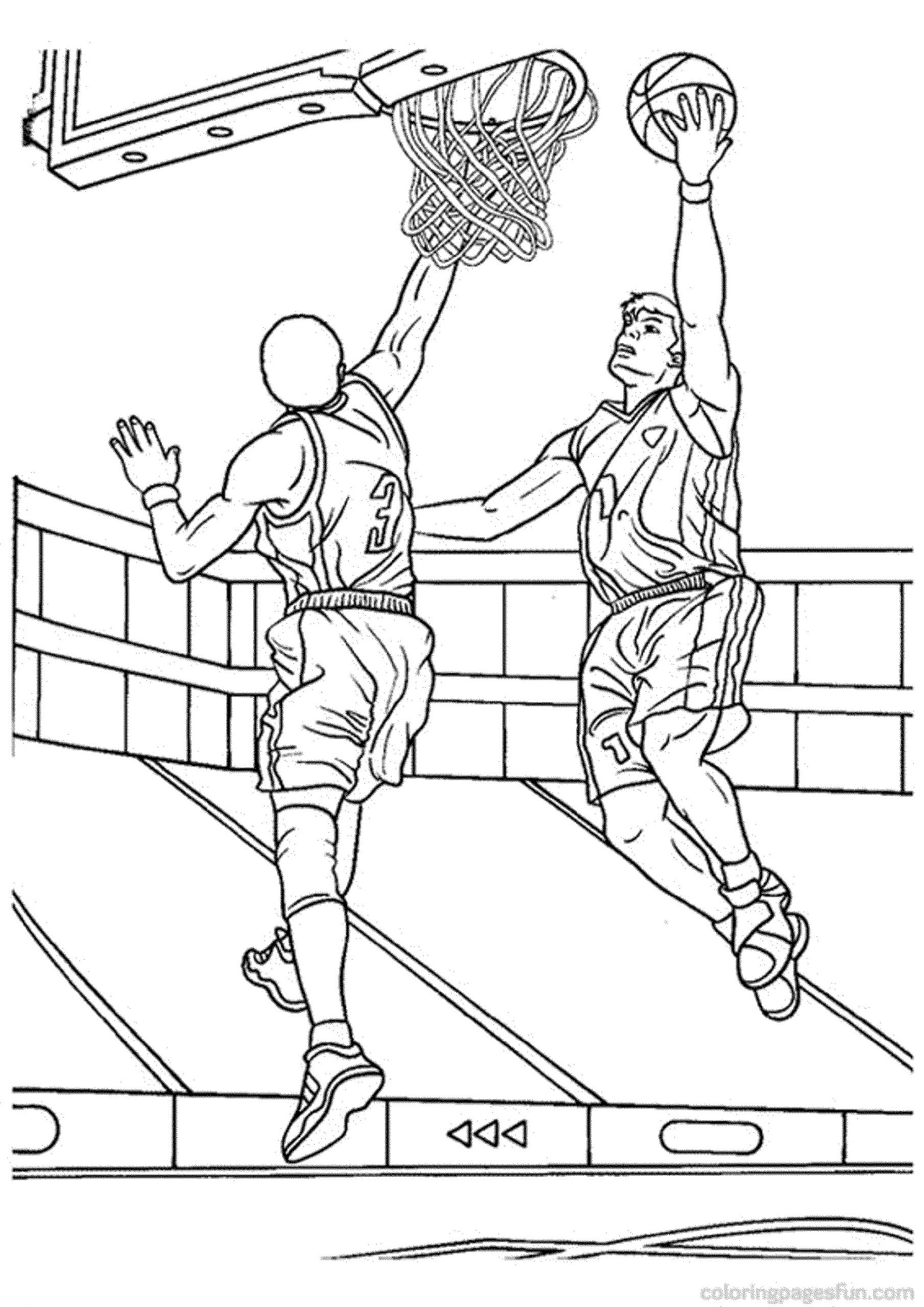 basketball pictures to color basketball free to color for kids basketball kids pictures basketball to color