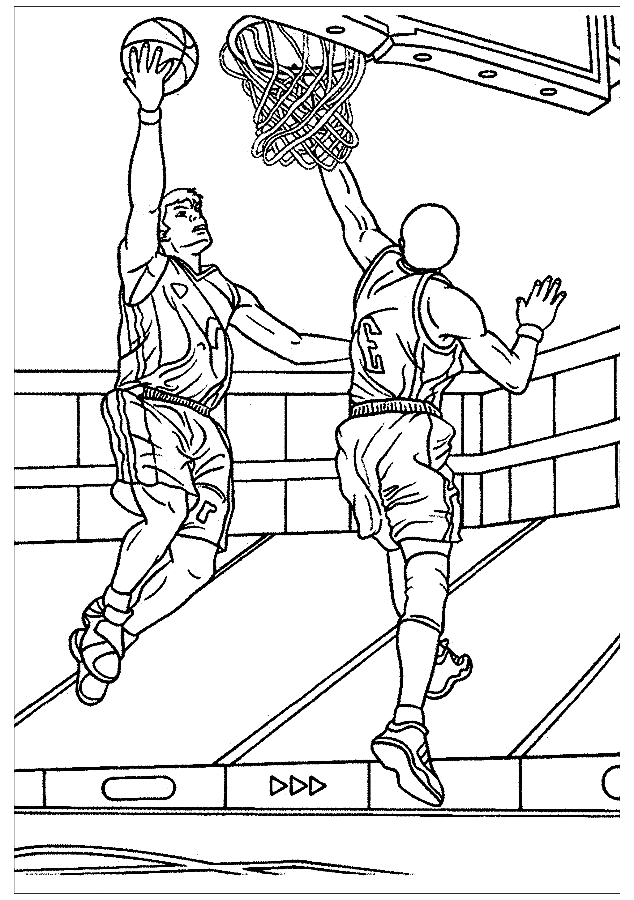 basketball pictures to color basketball to download for free basketball kids coloring color pictures basketball to