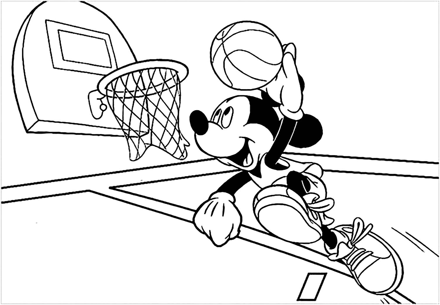 basketball pictures to color coloring town basketball pictures color to