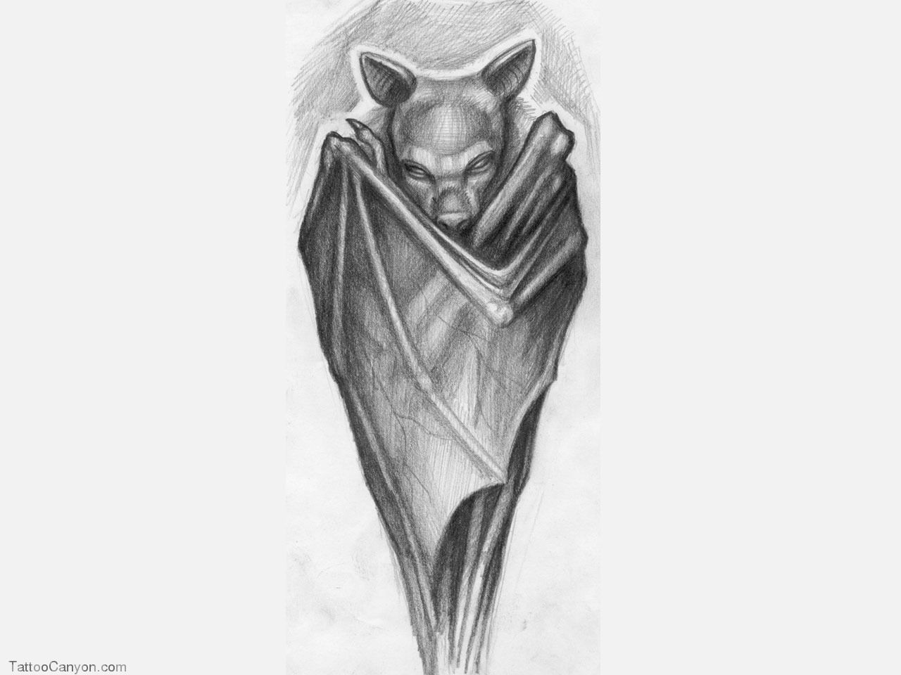 bat wings drawing bat illustration screaming flying bat with extended bat wings drawing