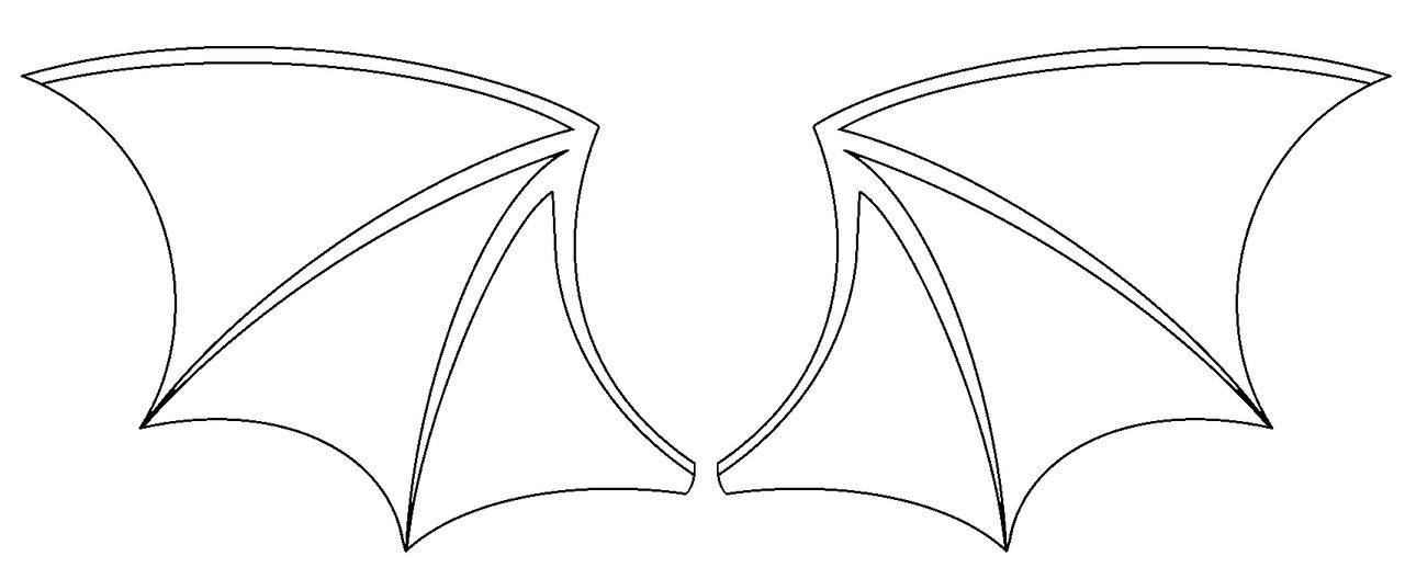 bat wings drawing bat wings drawing wings drawing bat
