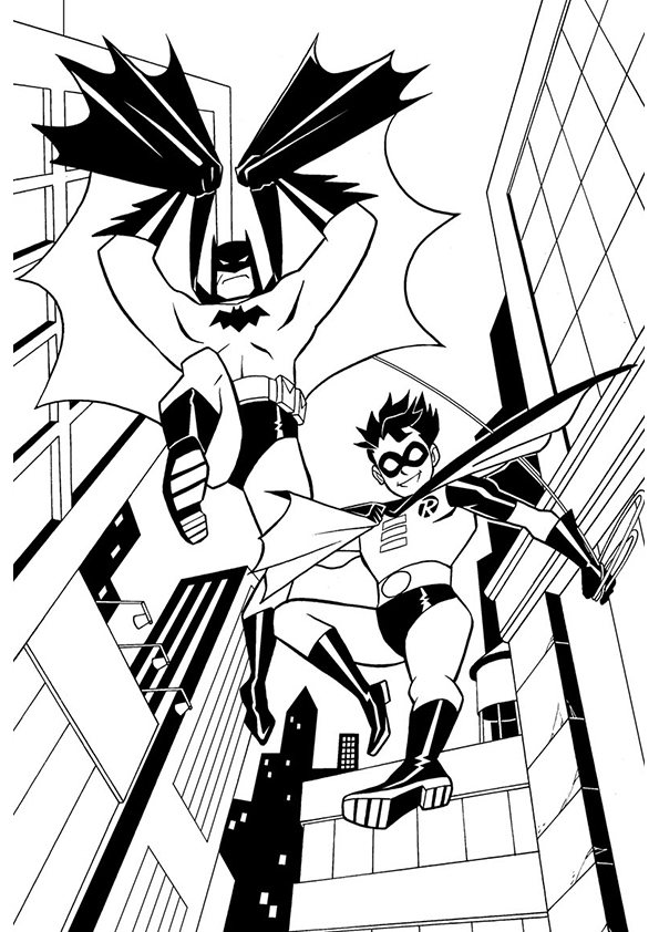 batman and robin printable coloring pages batman and robin coloring pages to download and print for free pages and printable coloring robin batman