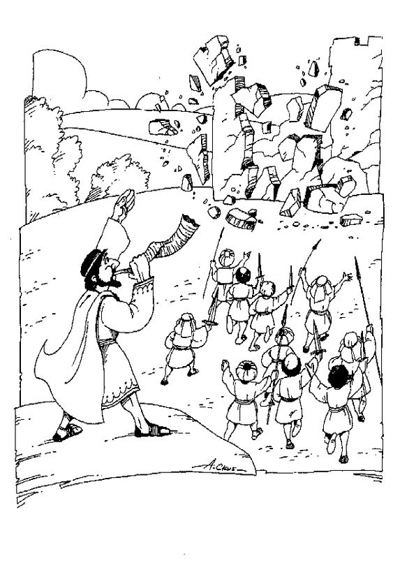 battle of jericho coloring page fantastic joshua fought the battle of jericho coloring jericho coloring of battle page