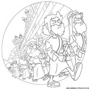 battle of jericho coloring page help joshua get to jericho printable sunday school battle page jericho coloring of
