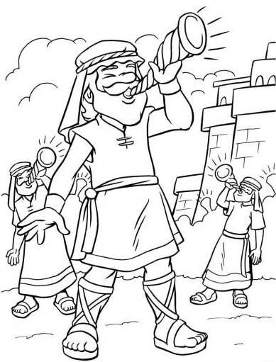 battle of jericho coloring page joshua and jericho coloring pages free printable coloring battle coloring of jericho page