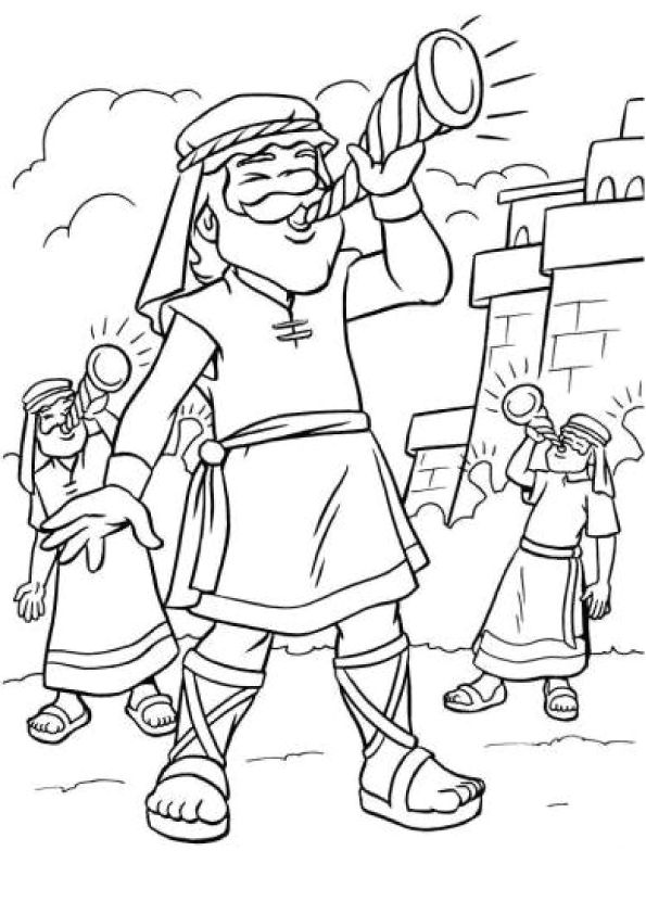 battle of jericho coloring page joshua and the battle of jericho battle of jericho battle jericho page of coloring