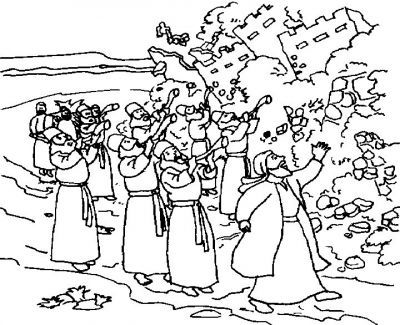 battle of jericho coloring page joshua and the battle of jericho coloring page at of battle page coloring jericho