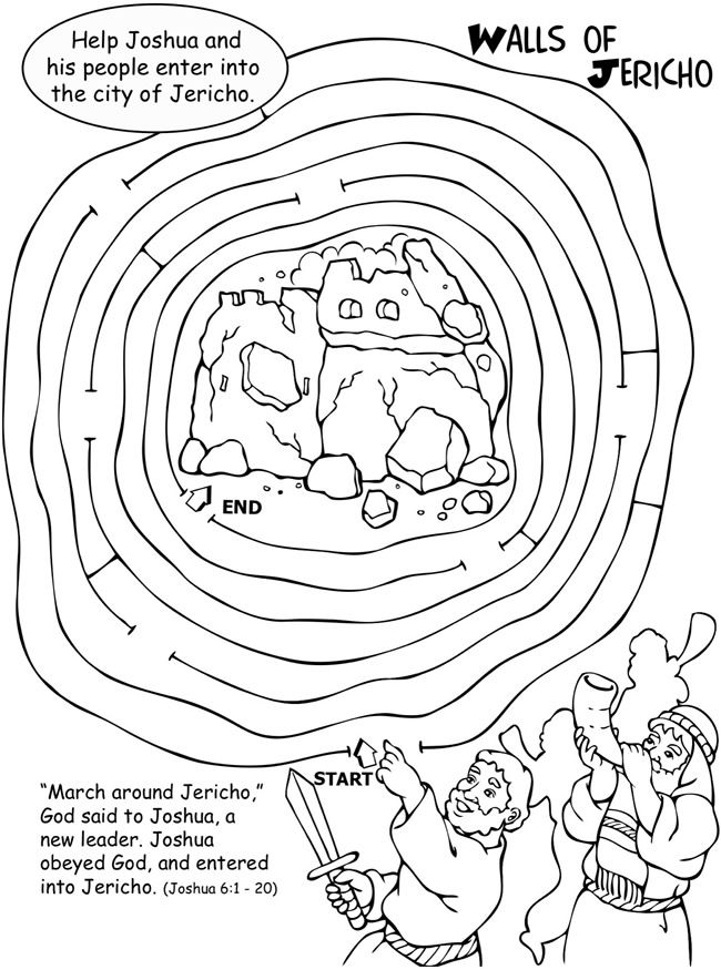 battle of jericho coloring page joshua the battle of jericho coloring page coloring of page battle jericho coloring