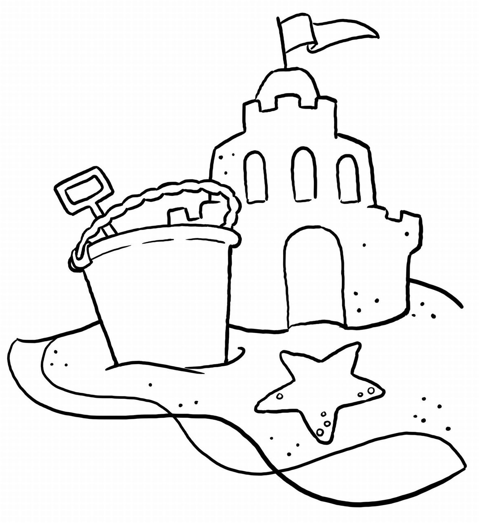 beach cartoon coloring pages free printable beach coloring pages for kids beach cartoon coloring pages