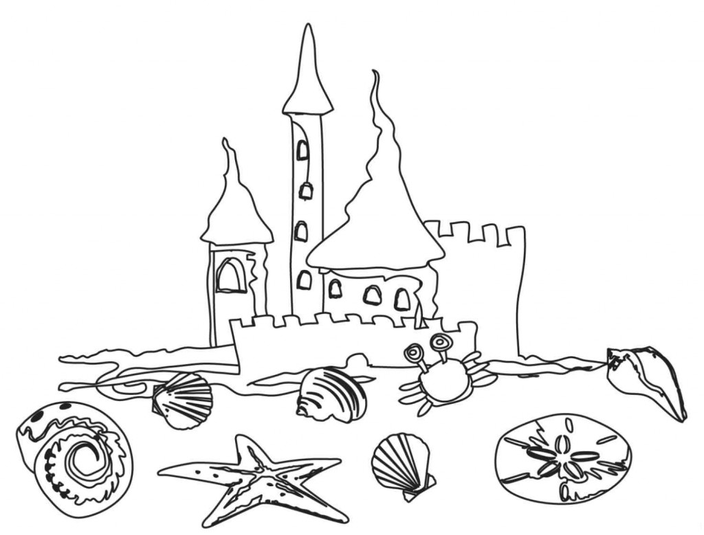 beach cartoon coloring pages free printable beach coloring pages for kids coloring cartoon beach pages
