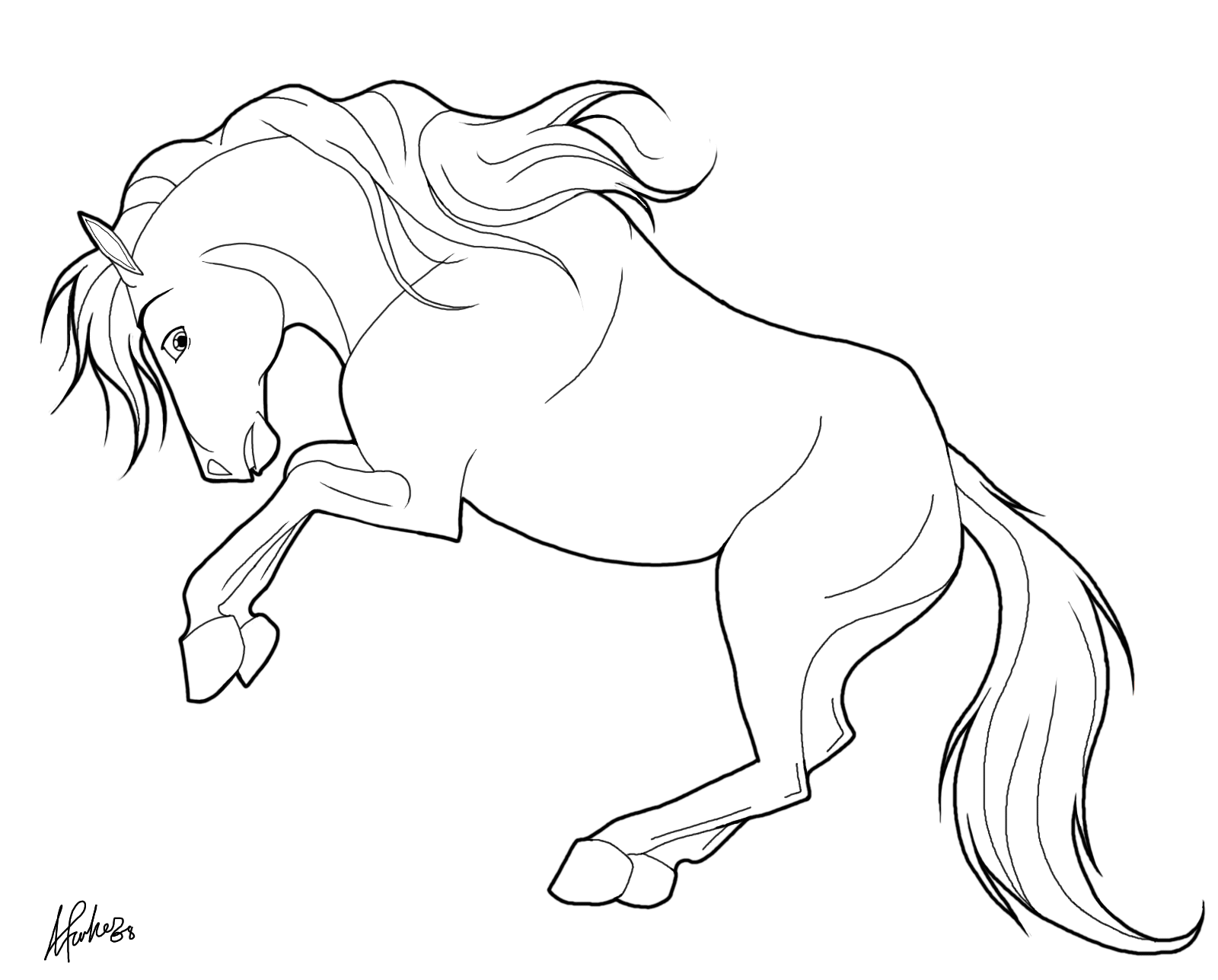 beautiful horse coloring pages beautiful horse animal coloring pages for kids to print horse pages coloring beautiful