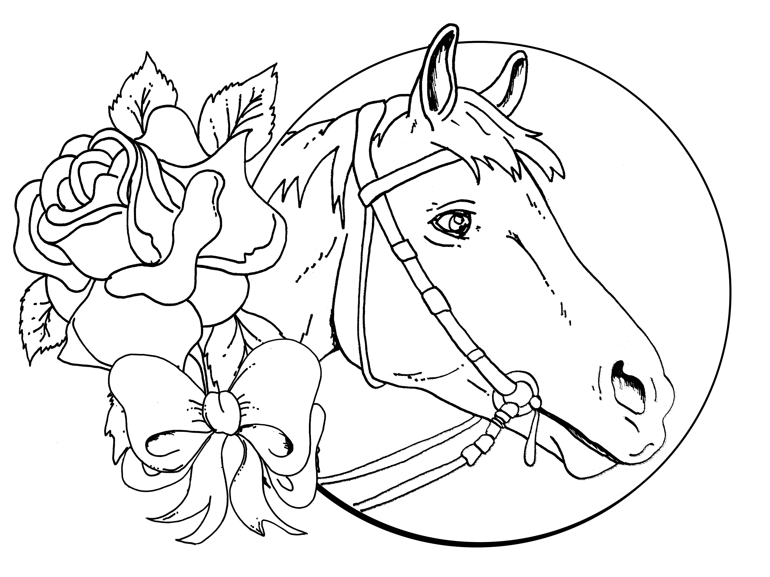 beautiful horse coloring pages free printable horse coloring pages for adults coloring home beautiful pages coloring horse