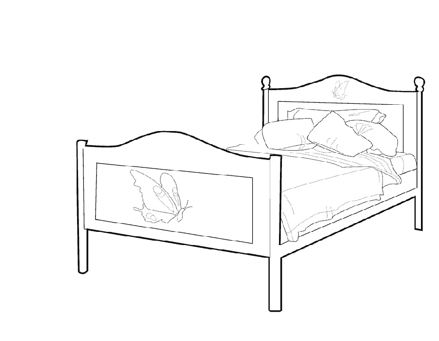 bed coloring pages bed coloring pages to download and print for free coloring bed pages