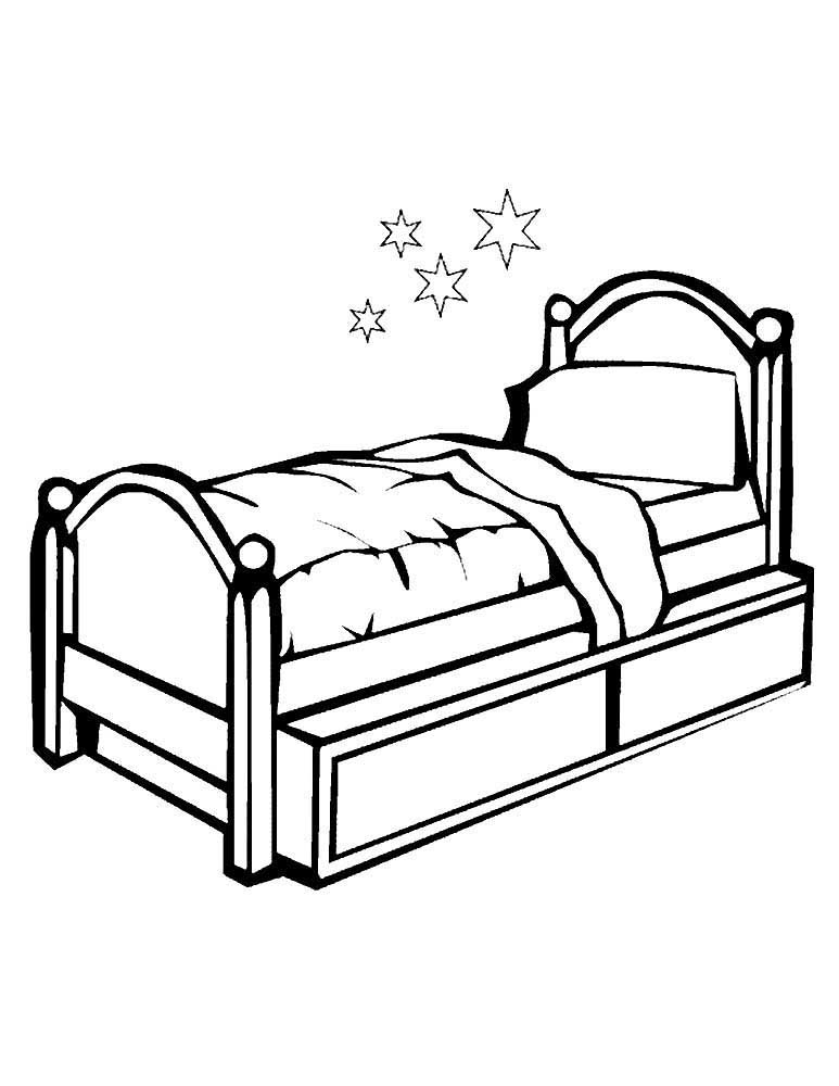 bed coloring pages bed coloring pages to download and print for free coloring pages bed 1 1