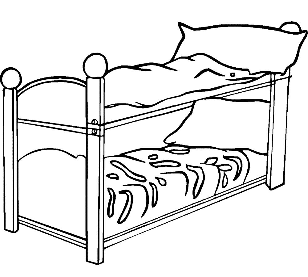 bed coloring pages bed coloring pages to download and print for free pages coloring bed