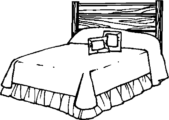 bed coloring pages bed objects printable coloring pages coloring pages bed