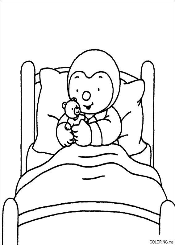 bed coloring pages bed objects printable coloring pages pages bed coloring