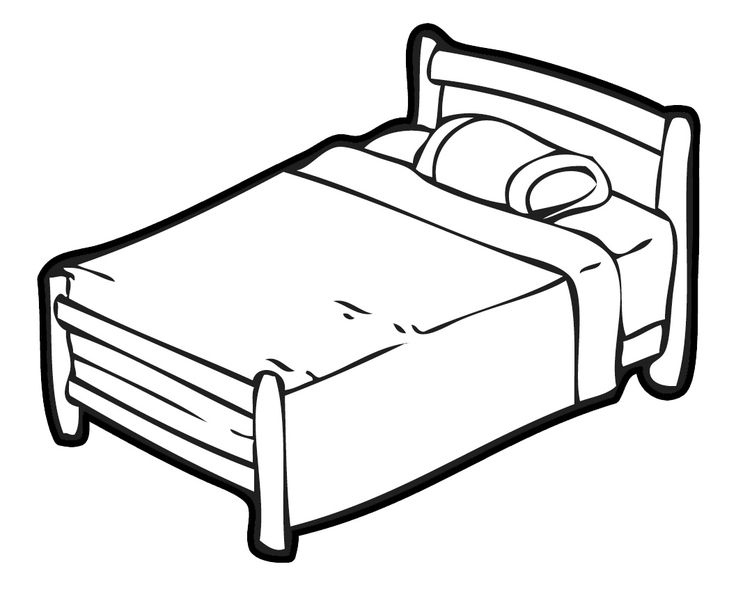 bed coloring pages easy shapes coloring pages big bed easy coloring coloring pages bed