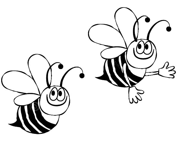 bee on flower coloring page flower bee with images adult coloring flowers coloring flower bee on page
