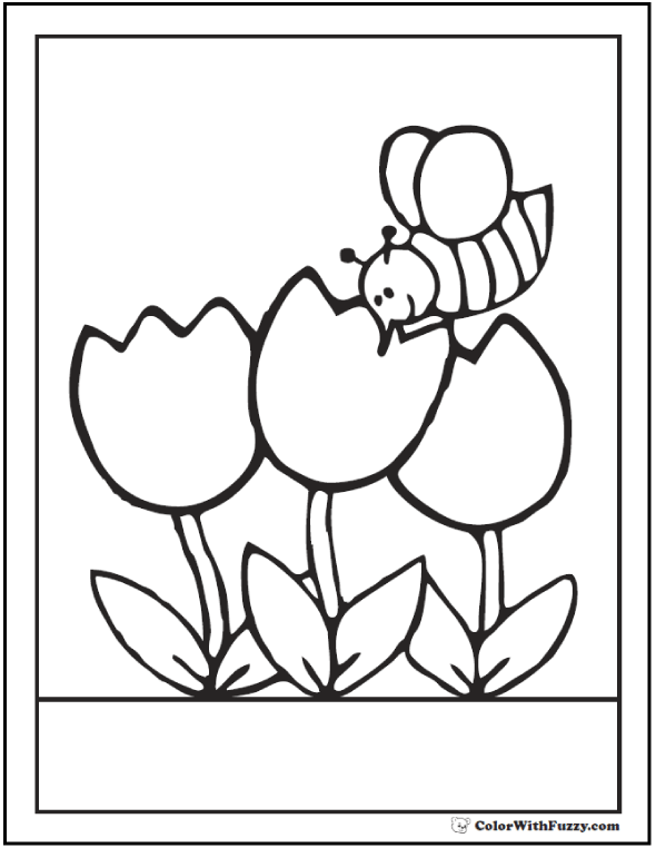 bee on flower coloring page free printable bumblebee coloring pages bumblebee flower on coloring page bee