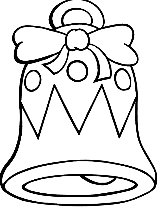 bell coloring page christmas bells coloring pages free printable christmas page bell coloring
