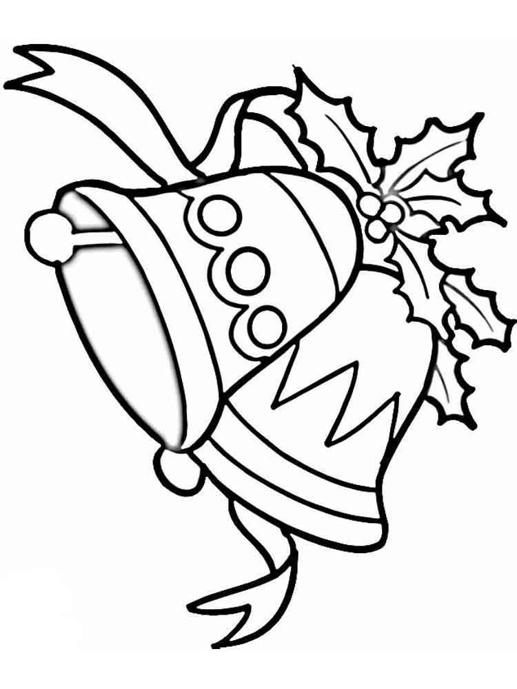 bell coloring page christmas coloring page christmas bells coloring page bell