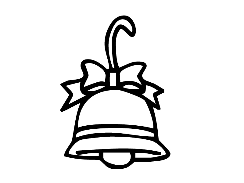 bell coloring page jingle bells coloring pages free printable images for kids bell page coloring