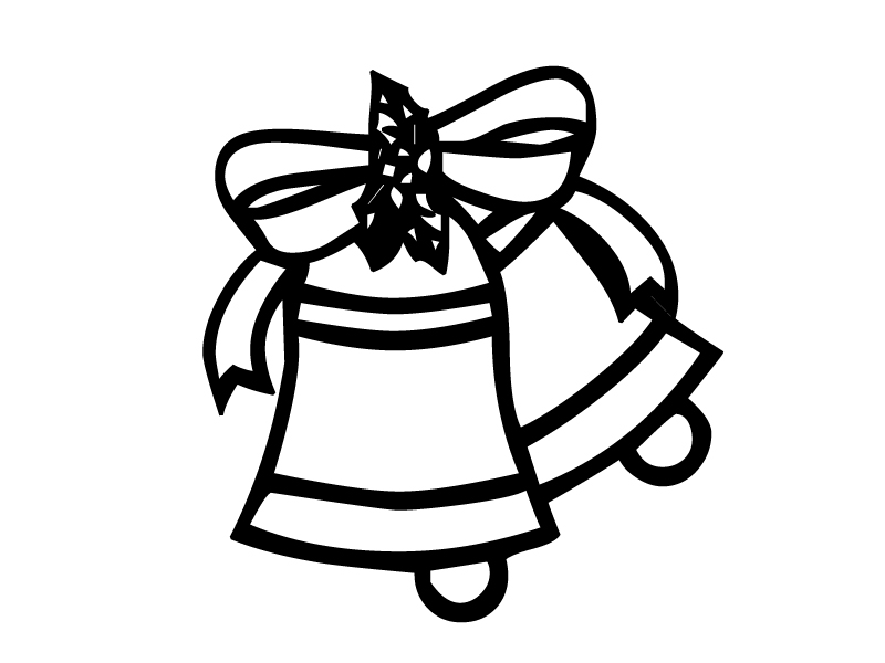 bell coloring pages free printable bell coloring pages for kids pages bell coloring 1 1