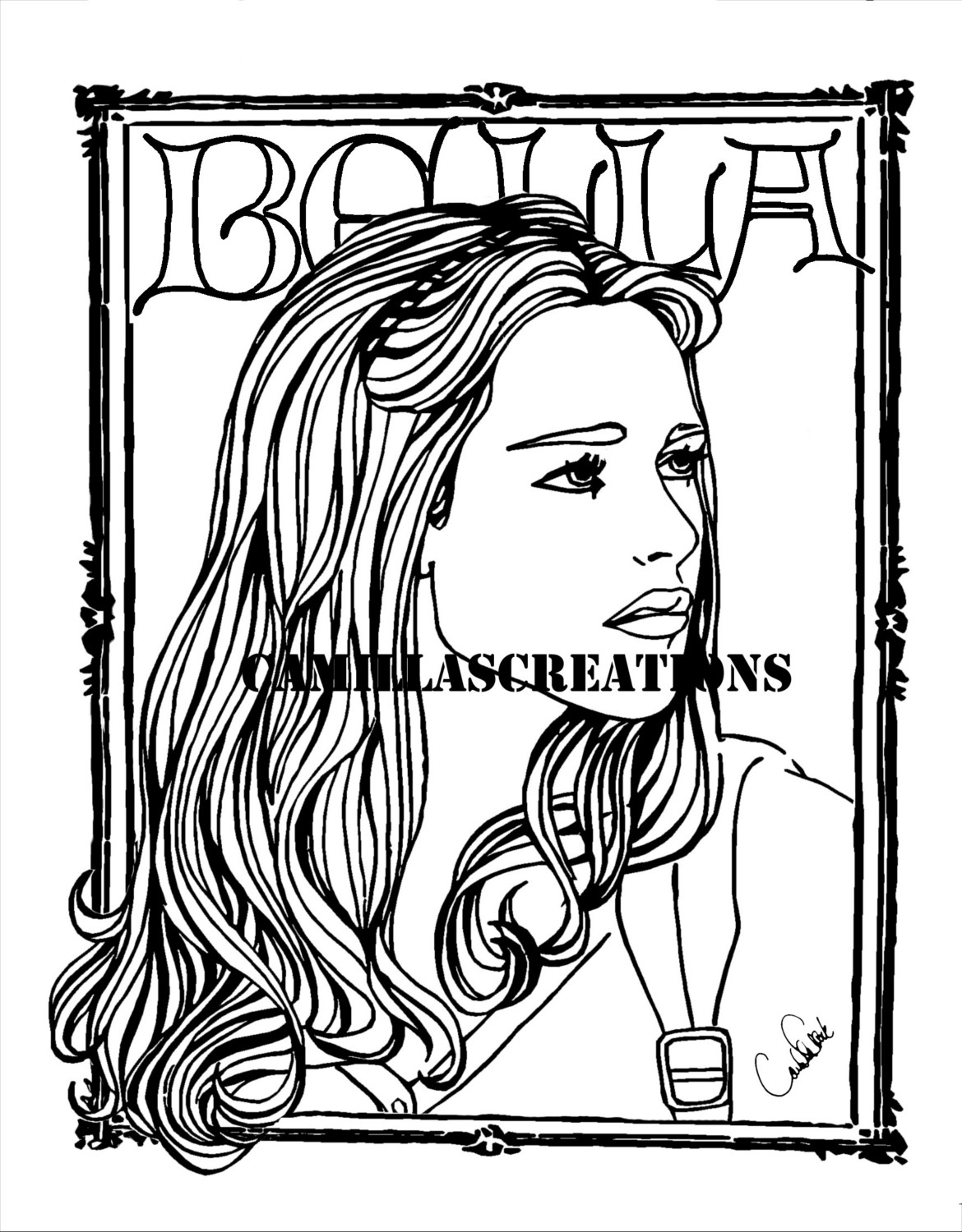bella coloring pages bella sawn twilight coloring pages coloring pages bella