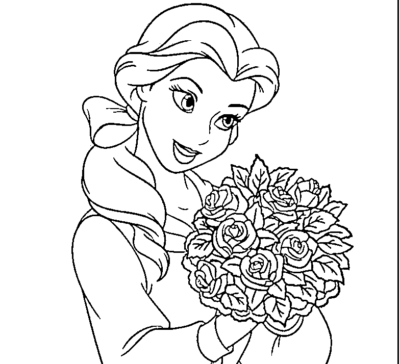 bella coloring pages disney princess belle coloring pages to kids bella coloring pages