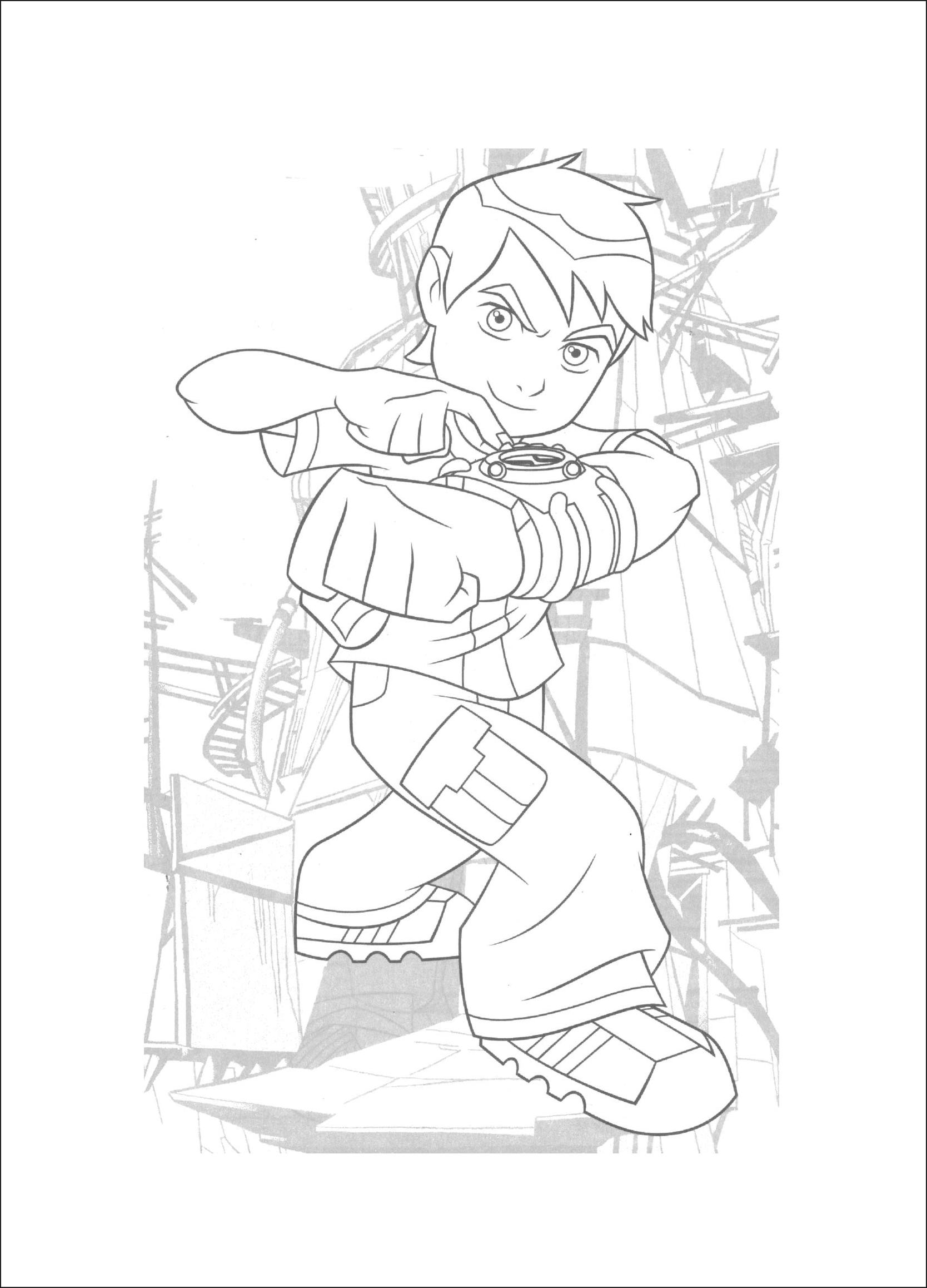 ben 10 overflow coloring ben 10 coloring pages overflow coloring pages ideas overflow coloring 10 ben