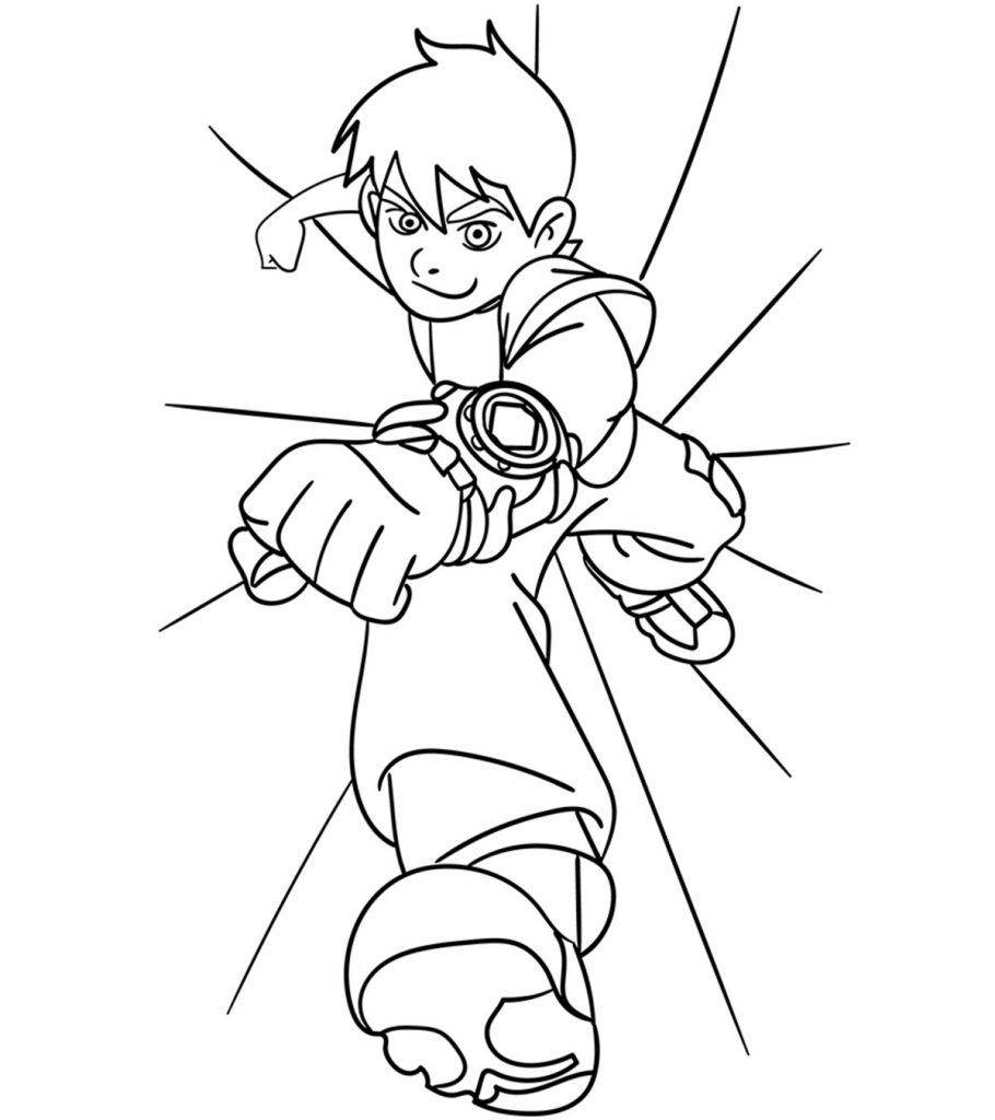 ben ten for coloring ben 10 coloring pages 20 free printable for little ones ten ben coloring for
