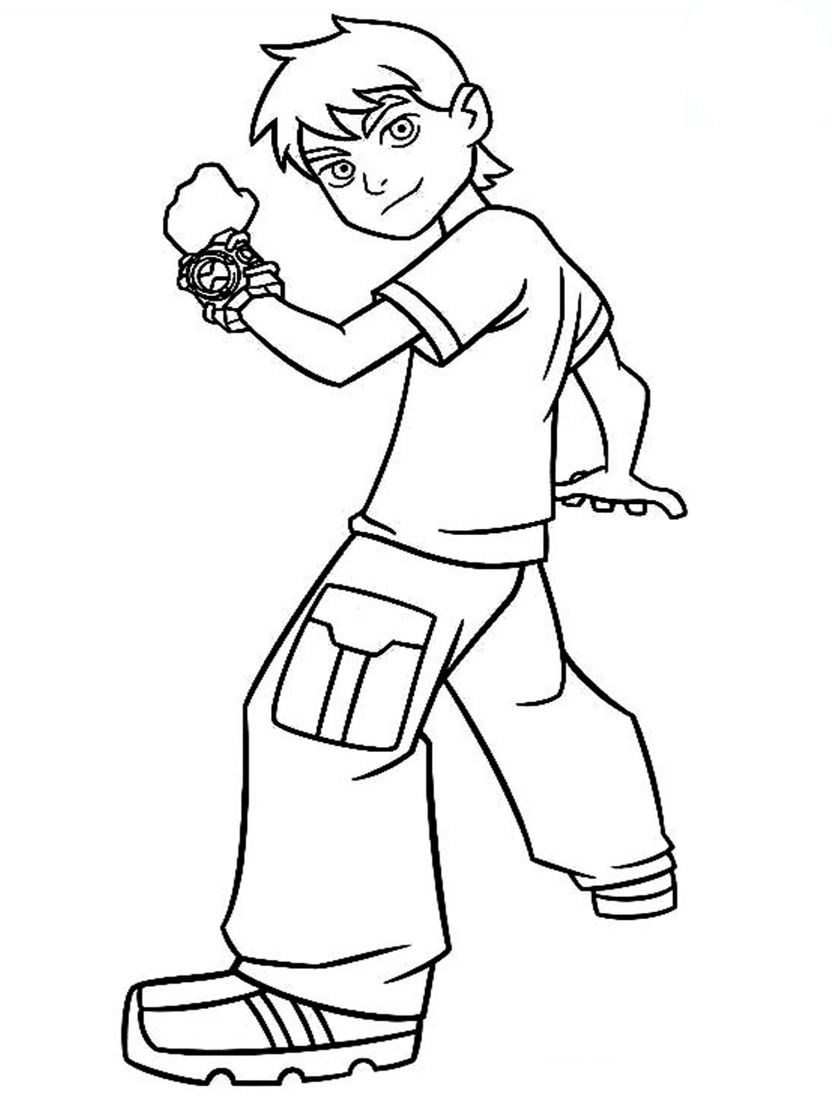 ben ten for coloring ben 10 coloring pages realistic coloring pages ben coloring ten for