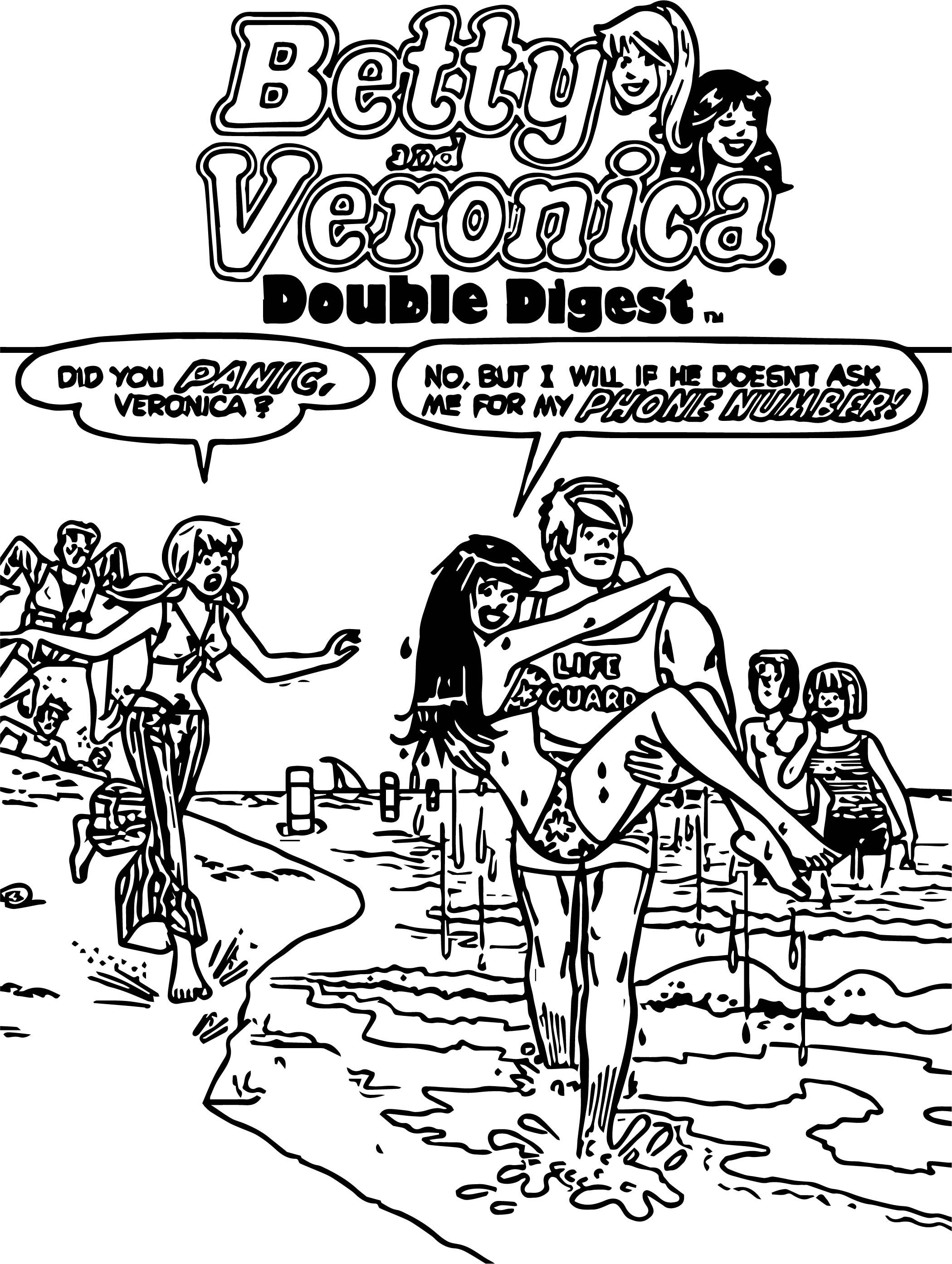 betty and veronica coloring pages 168 best betty cooper archie comics images archie veronica betty coloring pages and