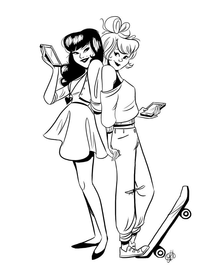 betty and veronica coloring pages betty and veronica archie comics coloring pagespictures pages and veronica betty coloring